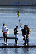 Seville. SPAIN, 18.02.2007, GV's around the boating, boathouse area on Sunday morning of the FISA Team Cup, held on the River Guadalquiver course. [Photo Peter Spurrier/Intersport Images]    [Mandatory Credit, Peter Spurier/ Intersport Images]. , Rowing Course: Rio Guadalquiver Rowing Course, Seville, SPAIN,