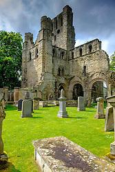 Kelso Abbey and graveyard, Scottish Borders<br /> <br /> (c) Andrew Wilson | Edinburgh Elite media