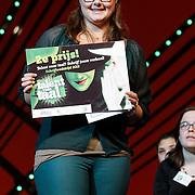 NLD/Scheveningen/20121030 - Uitreiking Talent voor Taal 2012 prijs, 2de prijswinnares Sharonne Bos