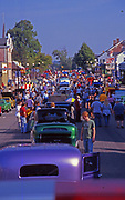 Crowds, Historic Auto Show, Clinton, PA