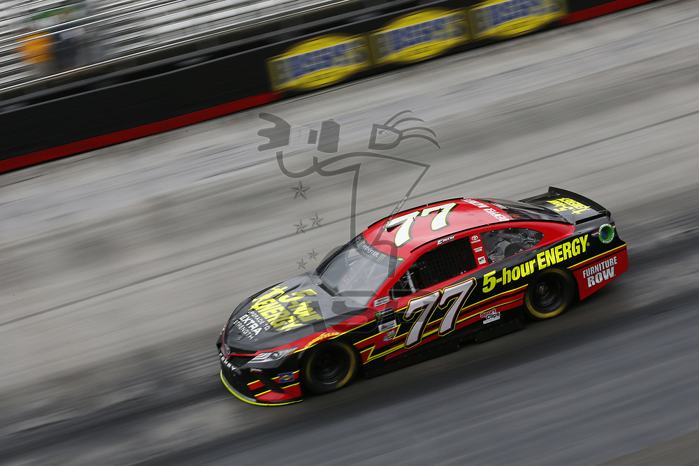 August 18, 2017 - Bristol, Tennessee, USA: Erik Jones (77) takes to the track to practice for the Bass Pro Shops NRA Night Race at Bristol Motor Speedway in Bristol, Tennessee.