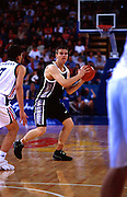 Kirk Penney during the Men's basketball match between the New Zealand Tall Blacks and France at the Olympics in Sydney, Australia on 17 September, 2000. Photo: PHOTOSPORT<br />