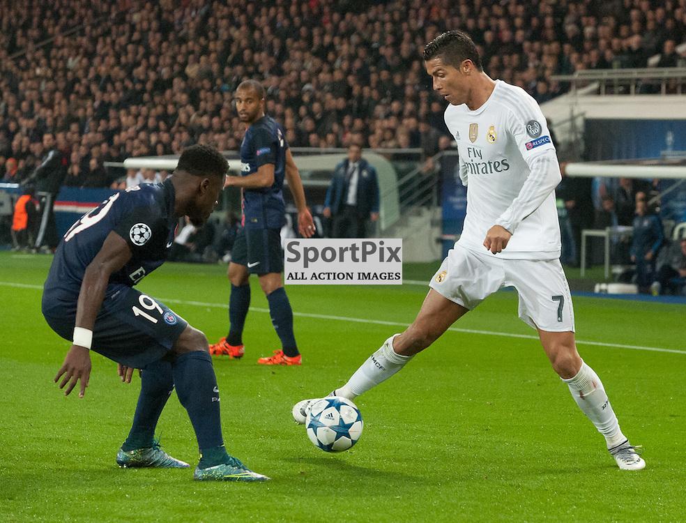 Serge Aurier (Paris Saint-Germain) and Cristiano Ronaldo (Real Madrid)