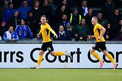 Brandon Goodship of Southend United celebrates scoring a goal - Mandatory by-line: Dougie Allward/JMP - 07/12/2019 - FOOTBALL - Memorial Stadium - Bristol, England - Bristol Rovers v Southend United - Sky Bet League One