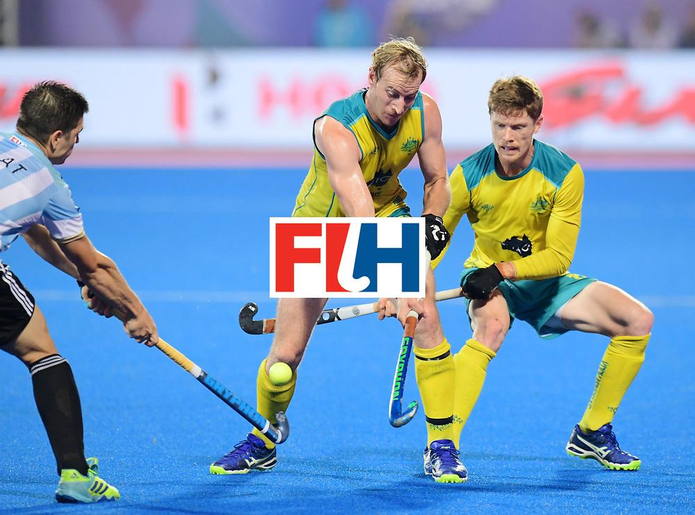 Odisha Men's Hockey World League Final Bhubaneswar 2017<br /> Match id:22<br /> Argentina v Australia Final<br /> Foto: Aran Zalewski (Aus) <br /> COPYRIGHT WORLDSPORTPICS FRANK UIJLENBROEK