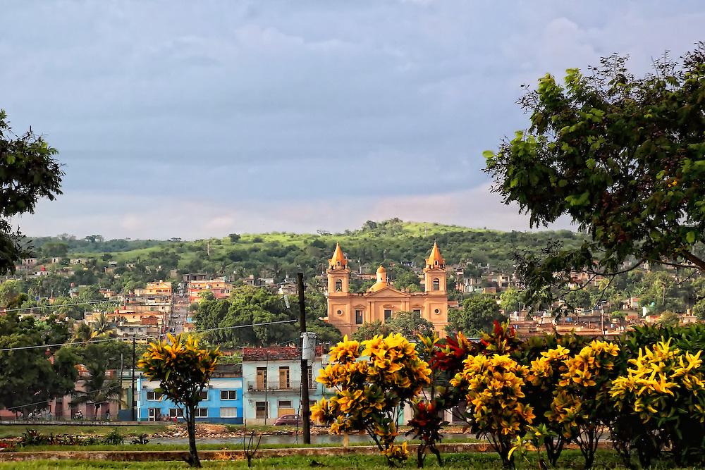 Cathedral in Matanzas, Cuba.