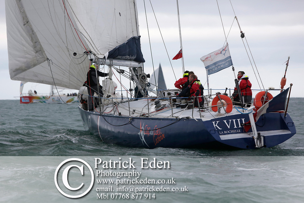 2017, July 1, Round the island Race, Round the Island Race, UK, Isle of Wight, Cowes, CAP AU CAP LOCATION, FRA 17,