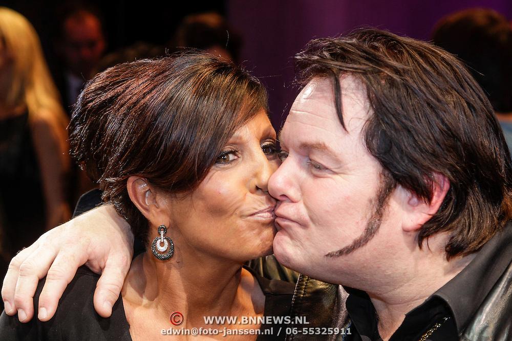NLD/Amsterdam/20121109 - Premiere Hij Gelooft in Mij, Rachel Hazes - van Galen en Martijn Fischer