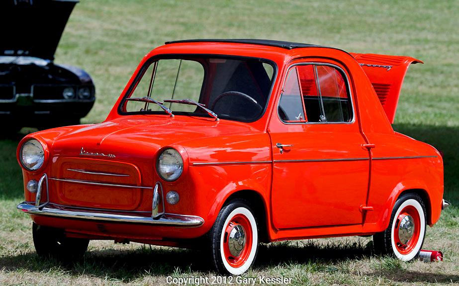 Vespa Microcar,Keeneland Concours D'Elegance,Lexington,Ky.