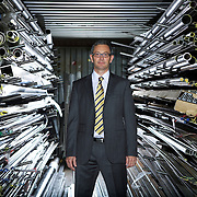 Roger Williams the MD of Seychelle Engineering - suppliers of components to Formula One racing teams.
