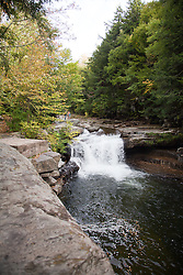 Bartlett Falls on Haven Creek (VT 17), West Lincoln, Vermont.