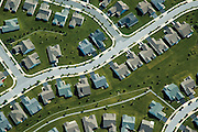 Aerial view of Aerial view, Housing Development,.Monopoly Pieces,  stitching, earth, abstract, art