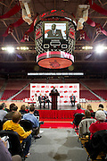 Press Conference for the new Basketball Head Coach Mike Anderson of the Arkansas RazorbacksUniversity of Arkansas Razorback 2010-2011 Basketball Team action photos<br /> <br /> <br /> <br /> ©Wesley Hitt<br /> All Rights Reserved<br /> 501-258-0920