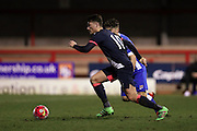 U21 Newcastle United's Luke Charman during the Barclays U21 Premier League match between U21 Brighton and Hove Albion and U21 Newcastle United at the Checkatrade.com Stadium, Crawley, England on 23 March 2016.