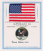 Space Exploration Auction featuring Apollo 11th 50th Anniversary Artifacts <br /> <br /> Boston-based RR Auction will honor the Apollo 11 astronauts, their predecessors and those who made the historic mission possible, and their enduring legacy in manned spaceflight during its June 13-June 20 sale. <br /> <br /> With over 500 lots highlighted by autographs, hardware, and flown artifacts, this auction brings to life the history of the space program. <br /> <br /> Fifty years ago, on July 20, 1969, the Apollo 11 Lunar Module 'Eagle' touched down on the surface of the moon.  Astronaut Neil Armstrong descended the spacecraft's ladder and spoke his immortal words: 'That's one small step for a man, one giant leap for mankind.' Buzz Aldrin soon followed behind him, and the two became the first earthly beings to set foot upon another celestial body. <br /> <br /> Included in the sale is an extremely rare 70-mm positive film roll from Magazine S of the Apollo 11 Hasselblad camera, containing 126 of the most iconic images from the first lunar-landing mission.<br /> <br /> Wound on a yellow Kodak holder and measuring 3.5″ in diameter. The roll features photographs taken by Commander Neil Armstrong and Lunar Module Pilot Buzz Aldrin during their historic two-and-a-half-hour lunar extravehicular activity at Tranquility Base with color images including: moments from inside the Lunar Module Eagle immediately prior to Armstrong leaving the spacecraft; Armstrong's first photograph after taking his historic first steps; Aldrin descending the ladder; Aldrin standing next to the American flag; the famous 'Moon Man' image of Aldrin in a full-length pose, his visor showing a reflection of Armstrong; and various bootprint images, shots of the Lunar Module, the lunar plaque, and panoramas of the desolate lunar surface.<br /> <br /> The film roll was acquired from Terry Slezak, a member of the decontamination team at the Manned Space Center's lunar receiving lab, who was in charge of proces