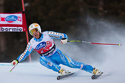 28.12.2011, Pista Stelvio, Bormio, AUT, FIS Weltcup Ski Alpin, Herren, Abfahrt, 2. Training, im Bild Hans Olsson (SWE) // Hans Olsson of Sweden in Action during second practice session downhill of FIS Ski Alpine World Cup at 'Pista Stelvio' in Bormio, Italy on 2011/12/28. EXPA Pictures © 2011, PhotoCredit: EXPA/ Johann Groder