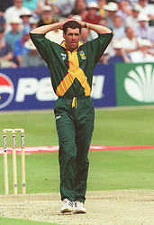 South Africa captain Hansie Cronje
