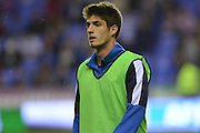 Reading's Lucas Piazon warms up before the Sky Bet Championship match between Reading and Ipswich Town at the Madejski Stadium, Reading, England on 11 September 2015. Photo by Mark Davies.