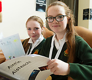 Scriobh Leabhair, Galway Education Centre's booking writing competition for National School pupils At the Radisson Blu saw hundreds of Children awarded for their Writing Skill.<br /> At the event was Grainne and Katie Bhreathnach from Social sailearna <br />  . Photo:Andrew Downes, xposure