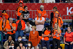 06-12-2019 JAP: Norway - Netherlands, Kumamoto<br /> Last match groep A at 24th IHF Women's Handball World Championship. / The Dutch handball players won in an exciting game of fear gegner Norway and wrote in the last group match at the World Handball  World Championship history (30-28). / Orange support