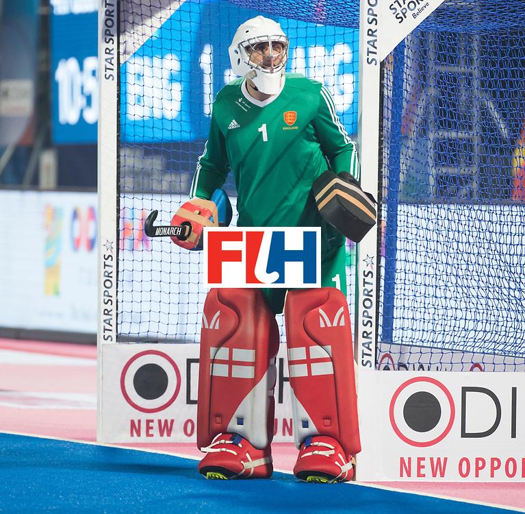 Odisha Men's Hockey World League Final Bhubaneswar 2017<br /> Match id:14<br /> England v Argentina , Quater Final<br /> Foto: keeper George Pinner (Eng) <br /> WSP COPYRIGHT KOEN SUYK