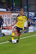 Tyler Forbes during the Sky Bet League 1 match between Bury and Fleetwood Town at Gigg Lane, Bury, England on 18 August 2015. Photo by Mark Pollitt.