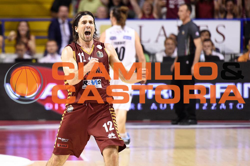 Ariel Filloy<br /> Umana Reyer Venezia - Dolomiti Energia Aquila Basket Trento<br /> Lega Basket Serie A 2016/2017<br /> Playoff, finale gara 2<br /> Venezia, 12/06/2017<br /> Foto M.Ceretti / Ciamillo-Castoria