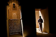 Inside Jabrin Fort Oman