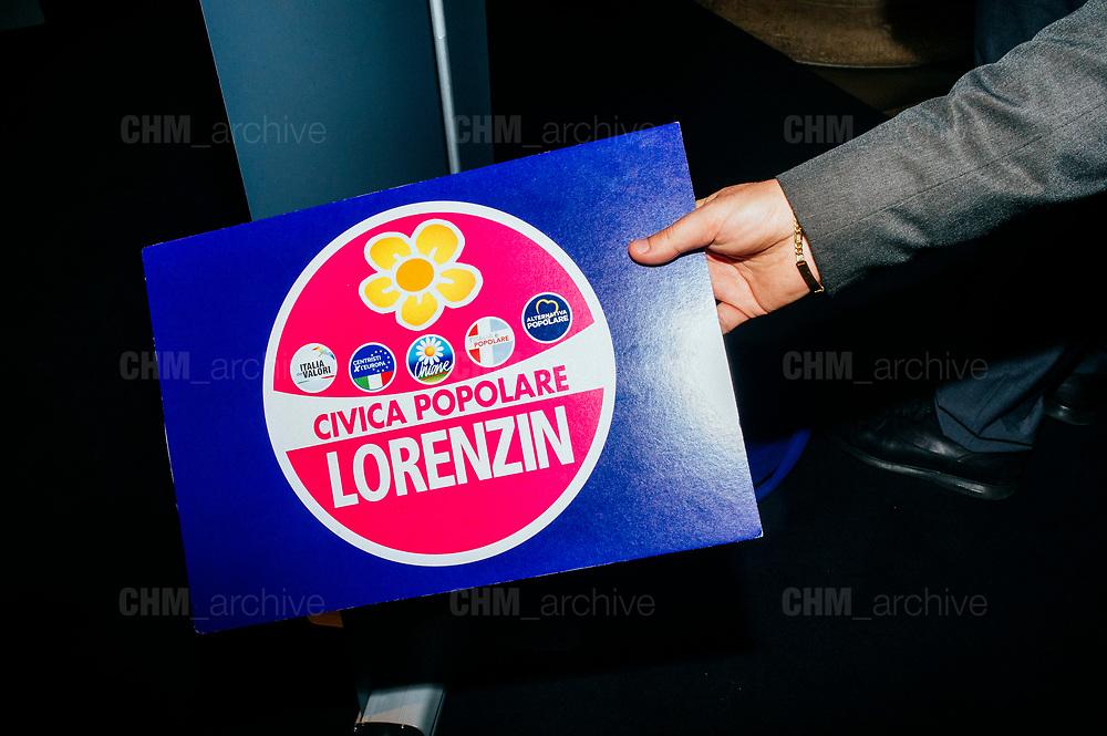 Presentazione di Civica Popolare Lorenzin per le politiche del 4 marzo 2018. Roma 9 Gennaio 2018. Christian Mantuano / OneShot