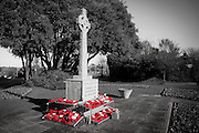 Seaford War memorial<br /> <br /> Ceremony of Remembrance at Seaford, East Sussex on 11 November 2012 Seaford War Memorial