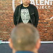 NLD/Hilversum/20180917 - Jury The Talent Project, Roel van Velzen word gefotografeerd