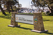 County of Orange Dana Point Harbor Signage