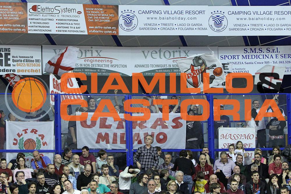 DESCRIZIONE : Venezia Lega A 2012-13 Umana Reyer Venezia EA7 Emporio Armani Milano<br /> GIOCATORE : tifosi ea7 emporio armani milano<br /> CATEGORIA :  tifosi<br /> SQUADRA : Umana Reyer Venezia EA7 Emporio Armani Milano<br /> EVENTO : Campionato Lega A 2012-2013<br /> GARA : Umana Reyer Venezia EA7 Emporio Armani Milano<br /> DATA : 10/03/2013<br /> SPORT : Pallacanestro<br /> AUTORE : Agenzia Ciamillo-Castoria/G.Contessa<br /> Galleria : Lega Basket A 2012-2013<br /> Fotonotizia :  Venezia Lega A 2012-13 Umana Reyer Venezia EA7 Emporio Armani Milano<br /> Predefinita :