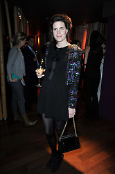 LADY LAURA CATHCART at the Tatler Little Black Book Party held at Chinawhite, 4 Winsley Street, London on 20th November 2009.