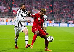 16.03.2016, Allianz Arena, Muenchen, GER, UEFA CL, FC Bayern Muenchen vs Juventus Turin, Achtelfinale, Rueckspiel, im Bild Jan Kirchhoff (FC Bayern Muenchen), David Alaba (FC Bayern Muenchen) // during the UEFA Champions League Round of 16, 2nd Leg match between FC Bayern Munich and Juventus Turin at the Allianz Arena in Munich, Germany on 2016/03/16. EXPA Pictures © 2016, PhotoCredit: EXPA/ Johann Groder