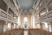 Kirche innen, Bürgel, Thüringen, Deutschland | interior of church, Buergel, Thuringia, Germany