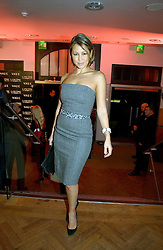 Singer RACHEL STEVENS at the 6th annual Lancome Colour Design Awards in association with CLIC Sargent Cancer Care held at Lindley Hall, Victoria, London on 28th November 2006.<br /><br />NON EXCLUSIVE - WORLD RIGHTS
