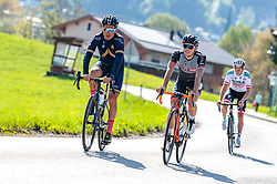 25.04.2018, Bad Häring, AUT, ÖRV Trainingslager, UCI Straßenrad WM 2018, im Bild Stefan Denifl (AUT), Mario Gamper (AUT) // during a Testdrive for the UCI Road World Championships in Bad Häring, Austria on 2018/04/25. EXPA Pictures © 2018, PhotoCredit: EXPA/ JFK