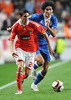 20091022: LISBON, PORTUGAL - SL Benfica vs Everton: Europa League 2009/2010 - Group Stage. In picture: Di Maria. PHOTO: Alexandre Pona/CITYFILES
