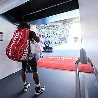 Serena Williams of the United States on day eleven of the 2017 Australian Open at Melbourne Park on January 26, 2017 in Melbourne, Australia.<br /> (Ben Solomon/Tennis Australia)