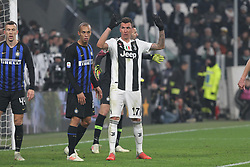 December 7, 2018 - Milan, Piedmont, Italy - Mario Mandzukic (Juventus FC) during the Serie A football match between Juventus FC and FC Internazionale at Allianz Stadium on December 07, 2018 in Turin, Italy..Juventus won 1-0 over Internazionale. (Credit Image: © Massimiliano Ferraro/NurPhoto via ZUMA Press)