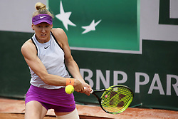 May 21, 2019 - Paris, France - Tereza Smitková during the match between Martina Trevisan of ITA vs Tereza Smitkova of CZE in the first round qualifications of 2019 Roland Garros, in Paris, France, on May 21, 2019. (Credit Image: © Ibrahim Ezzat/NurPhoto via ZUMA Press)