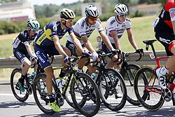 July 4, 2017 - Vittel, FRANCE - Czech Roman Kreuziger of Orica - Scott, Slovakian Peter Sagan of Bora - Hansgrohe and Slovakian Juraj Sagan of Bora - Hansgrohe pictured in action during the fourth stage of the 104th edition of the Tour de France cycling race, 207,5 km from Mondorf-les-Bains, Luxembourg, to Vittel, France, Tuesday 04 July 2017. This year's Tour de France takes place from July first to July 23rd. BELGA PHOTO YUZURU SUNADA (Credit Image: © Yuzuru Sunada/Belga via ZUMA Press)