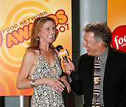 Robin Miller (left) is interviewed Marc Summers at the First Food Network Awards Show live to tape performance held at the Jackie Gleason Theater  of the Performing Arts, in Miami, FL on  Feb 23, 2007.  (Photo/Lance Cheung) <br /> <br /> PHOTO COPYRIGHT 2007 LANCE CHEUNG<br /> This photograph is NOT within the public domain.<br /> This photograph is not to be downloaded, stored, manipulated, printed or distributed with out the written permission from the photographer. <br /> This photograph is protected under domestic and international laws.