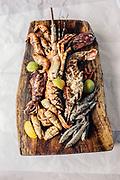 Lobster and seafood grill at Anantara Bazaruto Island Resort