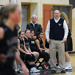 TOM KELLY IV &mdash; DAILY TIMES<br /> Radnor's head coach shouts from the bench during the Radnor at Upper Darby girls basketball game on Tuesday night December 9, 2014.