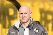 Port Vale Manager Robert Page  during the Sky Bet League 1 match between Port Vale and Coventry City at Vale Park, Burslem, England on 7 February 2016. Photo by Simon Davies.