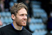 Peterborough United forward Craig Mackail-Smith (13) making a come back to the club, warming up  before the EFL Sky Bet League 1 match between Peterborough United and Sheffield Utd at London Road, Peterborough, England on 11 February 2017. Photo by Nigel Cole.