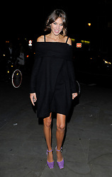 Alexa Chung attends LFW s/s 2016: House of Holland - catwalk show during London Fashion Week. London, UK. 19/09/2015<br /> BYLINE MUST READ : GOTCHAIMAGES.COM<br />