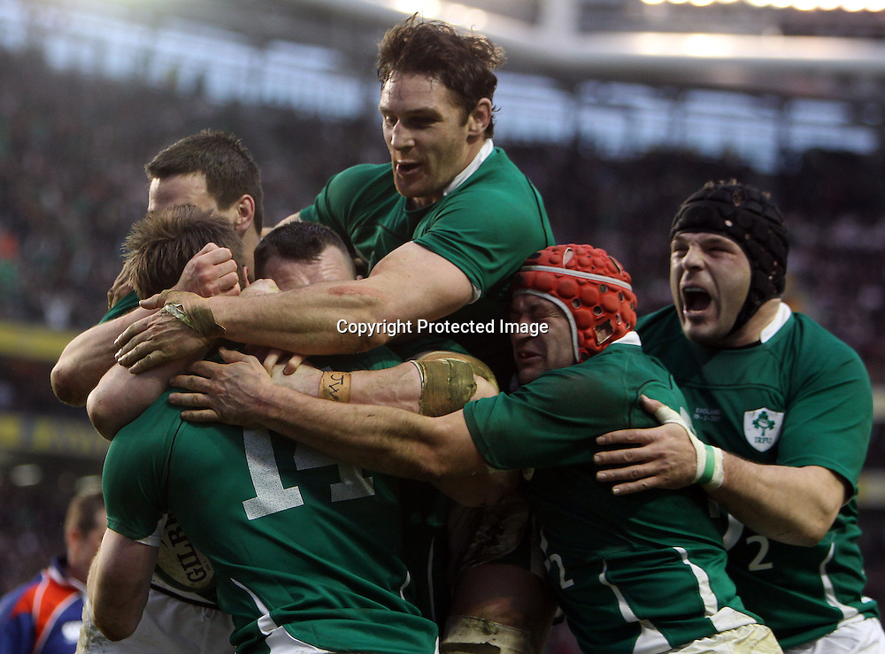 RBS Six Nations Championship, Aviva Stadium, Dublin 19/3/2011<br />
